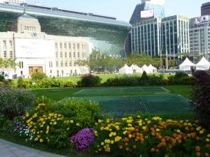 Seoul city hall park